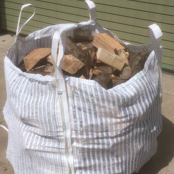 Wood in bag